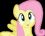 Cute Fluttershy vector