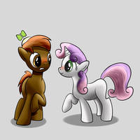 Button Sweetie by BR-David