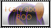 :Gift:I care about Boo stamp. by FunnyGamer95