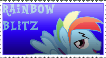 Rainbow Blitz stamp by FunnyGamer95