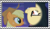 Applejack and flutterbat stamp. by FunnyGamer95