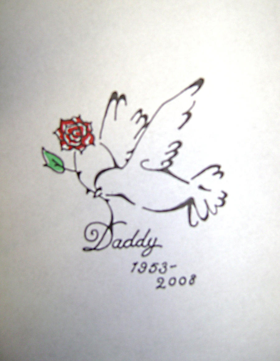 dove tattoo commission by