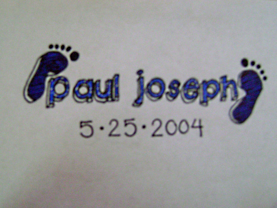 baby name footprint by petitedesse on deviantart