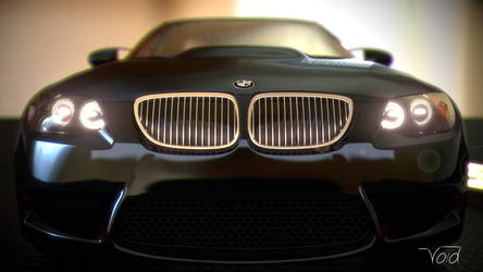 BMW M3 Keychan Black Front by thevoidreamer