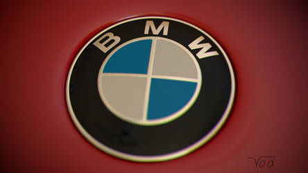 BMW M3 Keychan Logo front by thevoidreamer