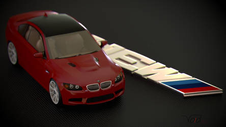 BMW M3 Keychan Persp by thevoidreamer