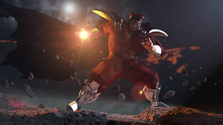 M.Bison by thevoidreamer