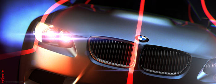 BMW V2 Front by thevoidreamer