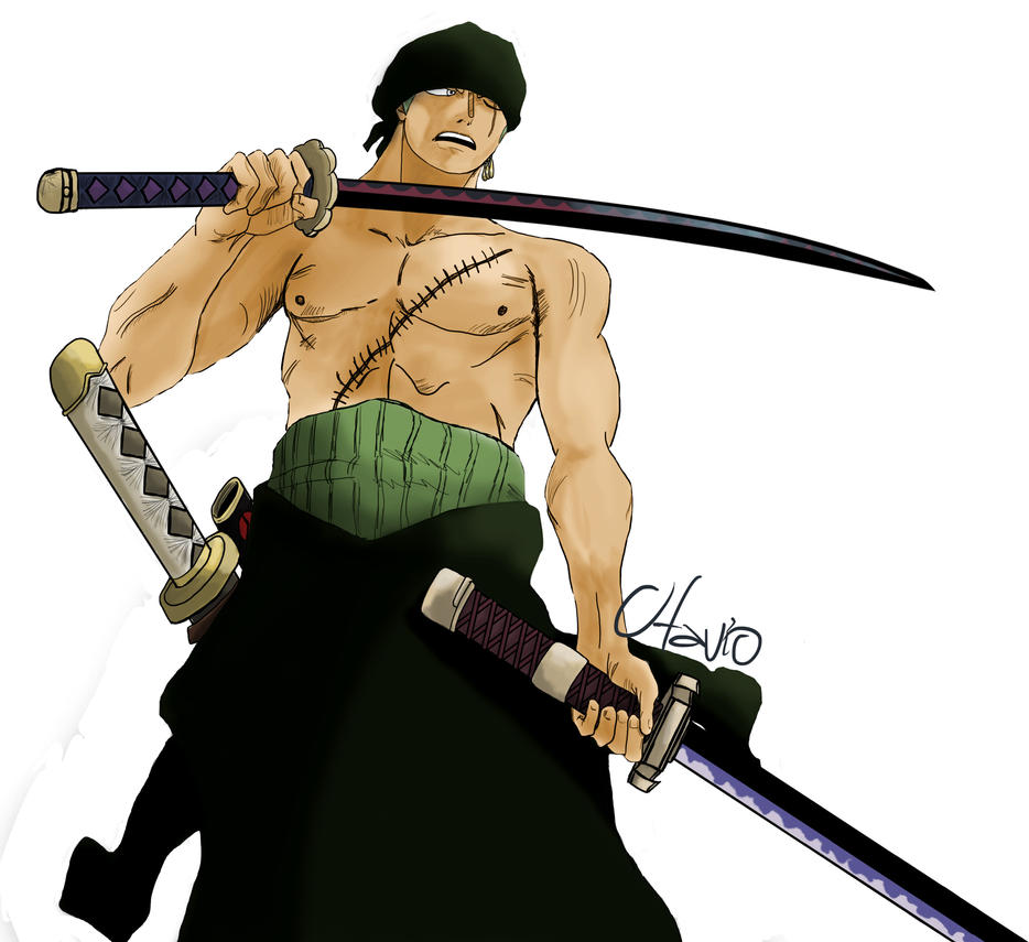 One Piece Zoro Wallpaper: Roronoa Zoro // No Background By Otavio3178 On DeviantArt