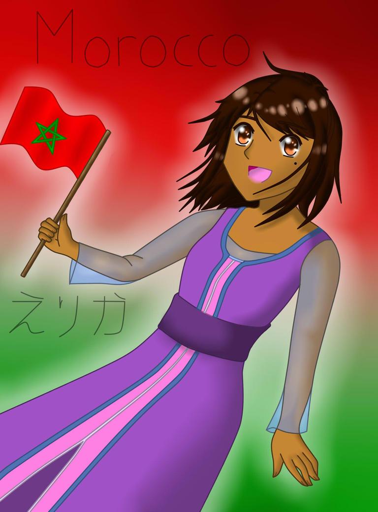 Hetalia OC - Morocco by ErikaMizuki