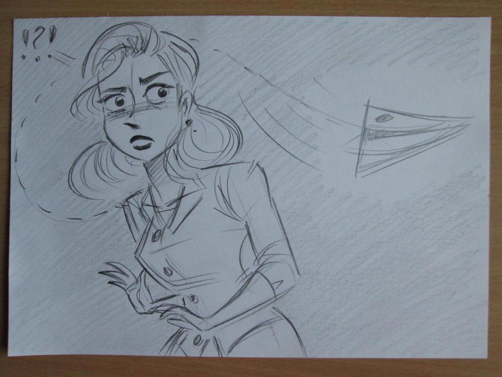Paperman Meg by SAVAPER