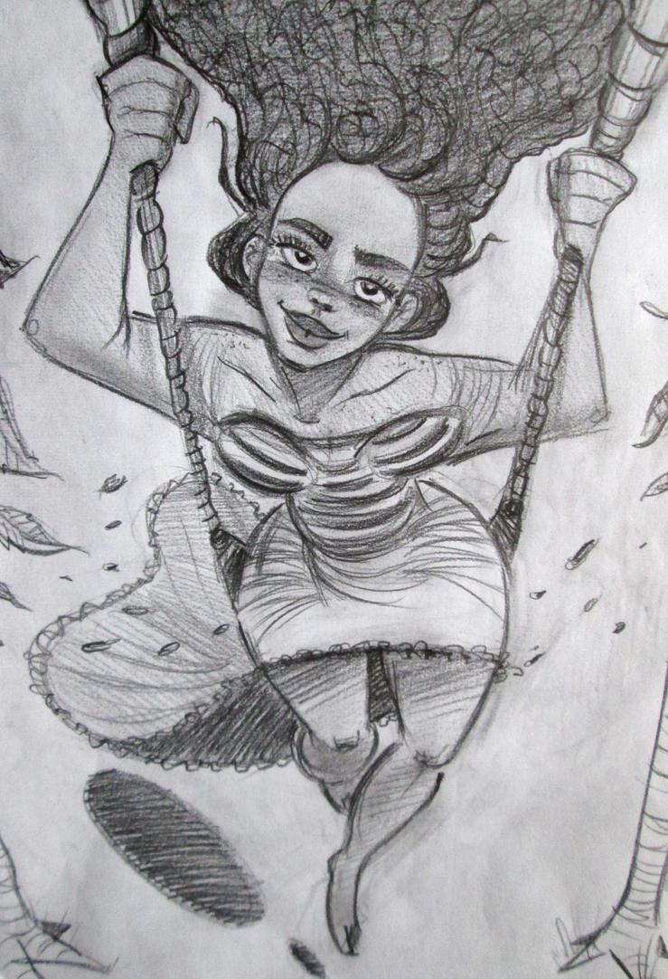 Moana swinging by SAVAPER