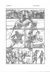 Daredevil - Gutter pg17 by druje