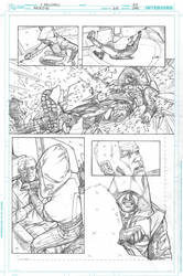 ARROW #20 Page 7 by druje
