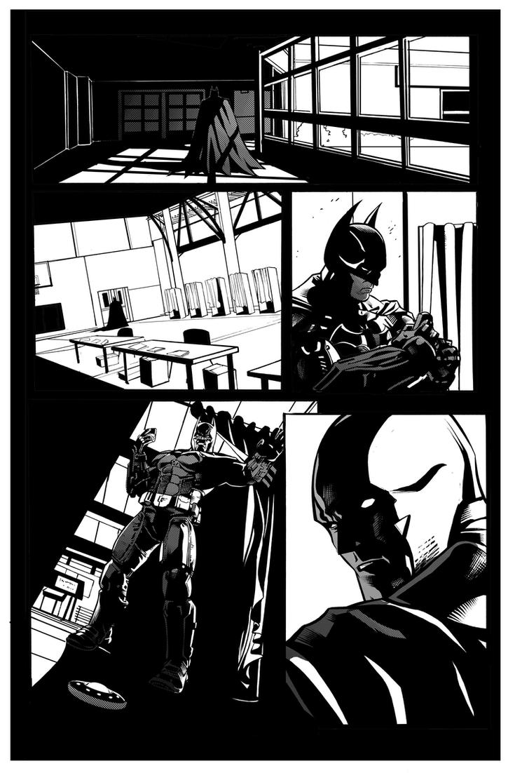 Batman: Arkham Origins Week 6 Page 108 by druje