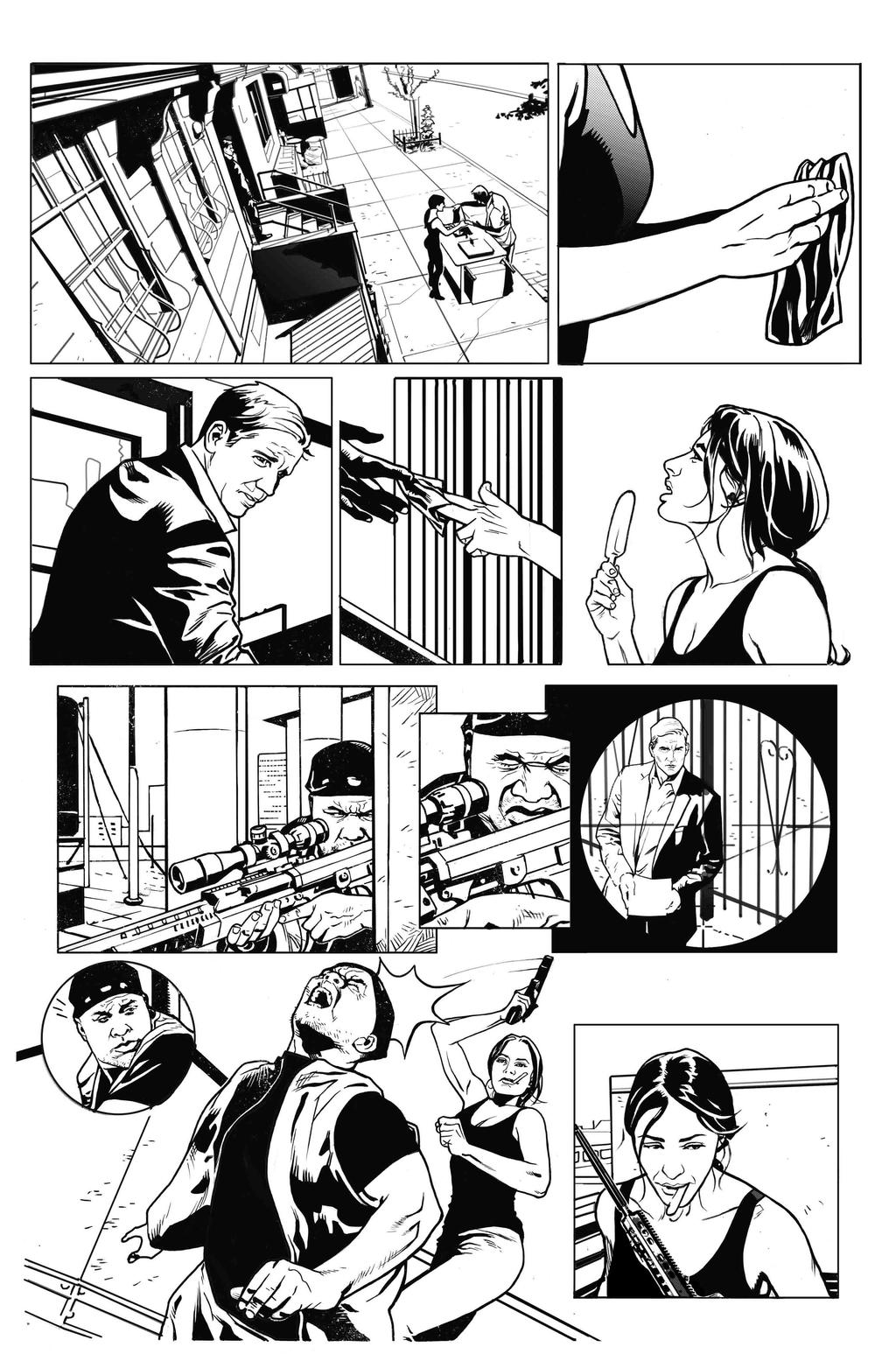 Person of Interest 301 Inks by druje