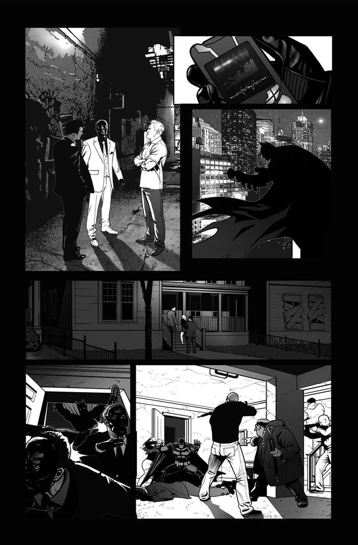 Batman: Arkham Origins Week 8 Page 139 B by druje