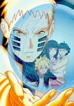 Naruto family by Sergeyleg