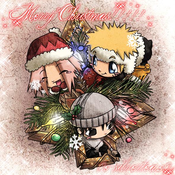 Christmas Chibi by silverteahouse