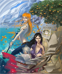 OP: Nami and Robin
