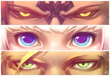 FFXIV - Eyes by silverteahouse