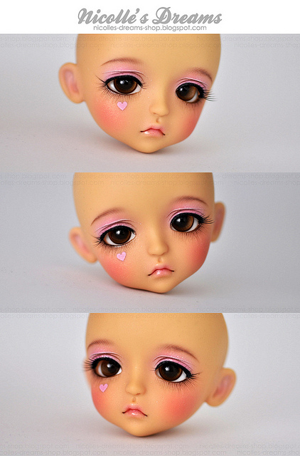 2012 November Lati Lea faceup by AndrejA