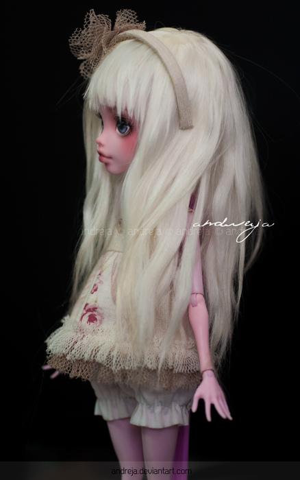 Ann in white by AndrejA