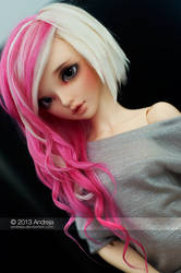 Jess - pink and blonde by AndrejA