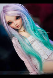 Jess - Soft lavender and turquoise by AndrejA