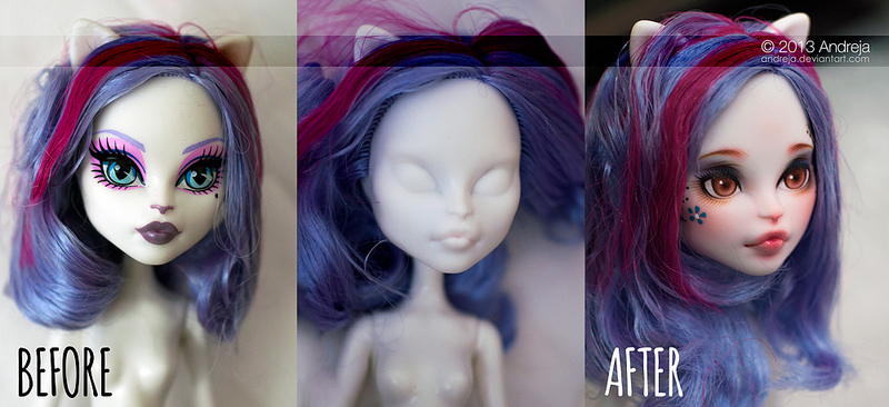 Custom Monster High Catrine by AndrejA