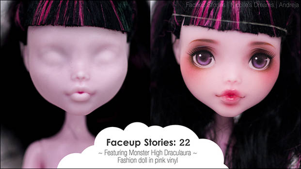 VIDEO Faceup Stories 22 - Monster High Draculaura