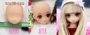 Before and After - Obitsu+Azone hybrid