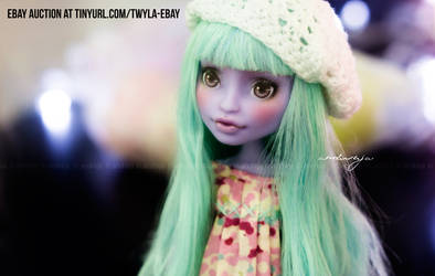 Custom Monster High Twyla hat by AndrejA