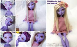 WIP Monster High Jane Boolittle