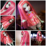 OOAK Monster High Frankie (auction)