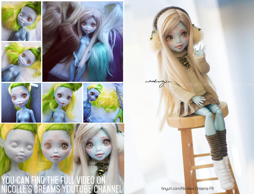 Custom Monster High Lagoonafire [+video]