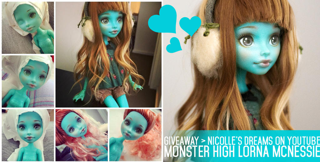 GIVEAWAY Custom MH Lorna McNessie