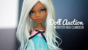 Customised Monster High Clawdeen (up for auction)