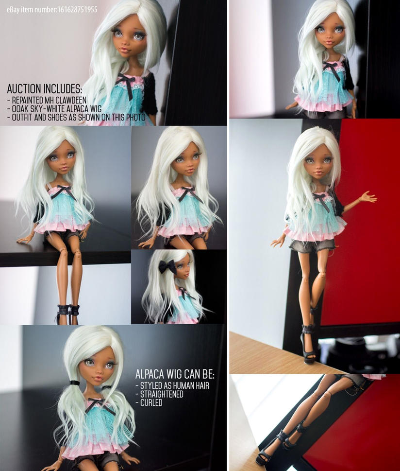 OOAK Monster High Clawdeen (auction) by AndrejA