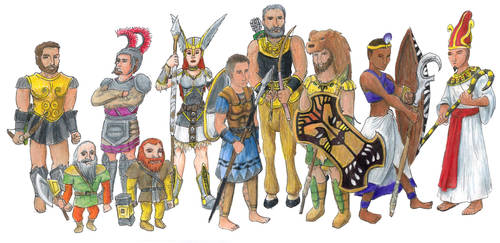 Age of Mythology by RogueDragon