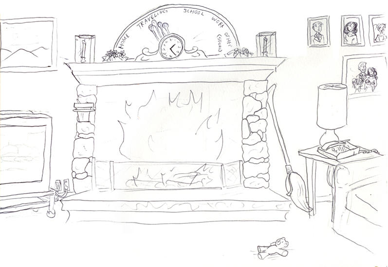 Living room outline by roguedragon for Living room outline