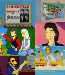 The Beatles in the Simpsons