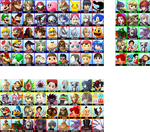 Super Smash Bros. 4 - Complete Roster