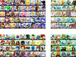 Super Smash Bros. Wii U / 3DS - Complete Roster