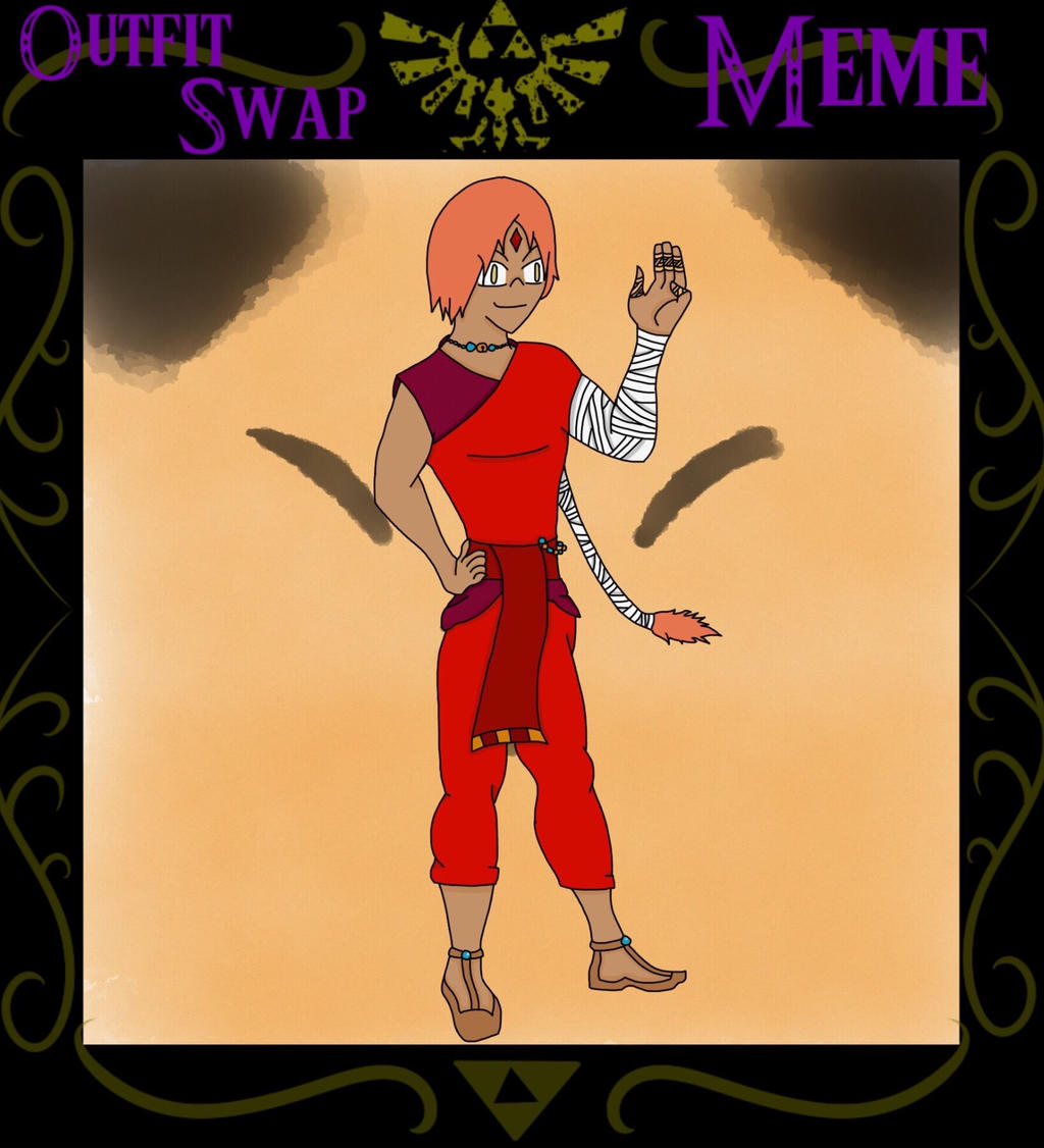 [FoH] Outfit Swap Meme: Daichi (Jerial)