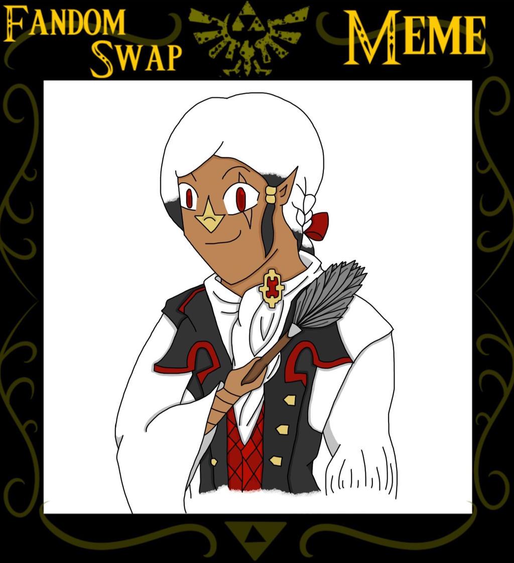 [FoH] Fandom Swap: Fire Emblem (Butler!Cyril)