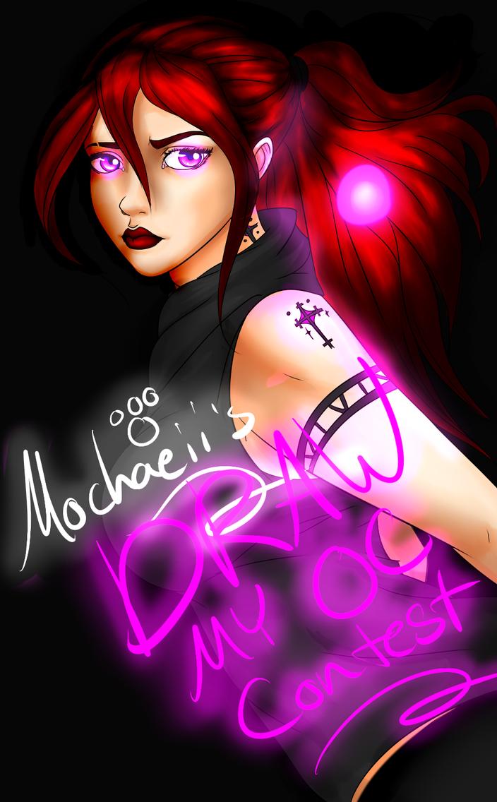 Draw My Oc Contest Banner by Mochaeii