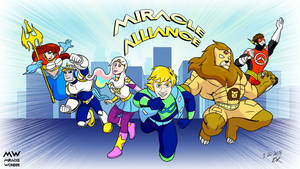 Miracle Wonder Comics Presents Miracle Alliance by thieviusracoonus