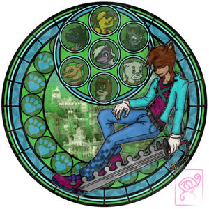 Kenki Omichi's Stained Glass
