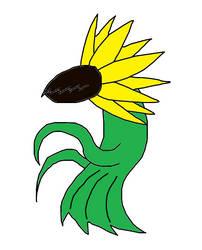 Sunflower Goddess by thieviusracoonus